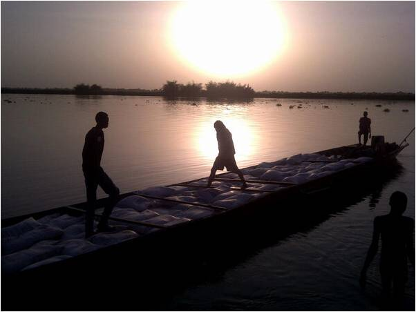Sunset over the Nile at Malakal, the inspiration for 'Meandering in South Sudan', a poem posted at www.fulcrum-anglican.org.uk/page.cfm?ID=782. Photo by Graham Kings