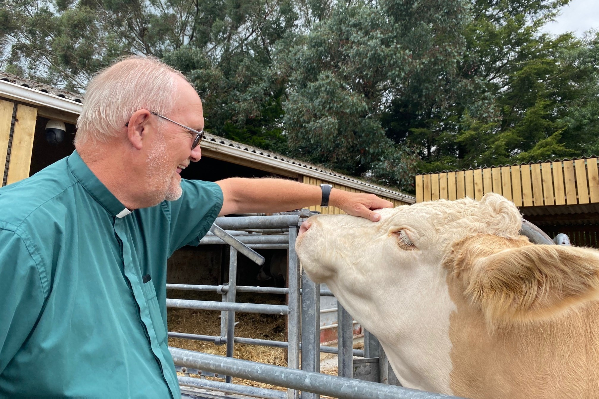 Agents of love- The Revd Richard Kirlew at Rylands Farm