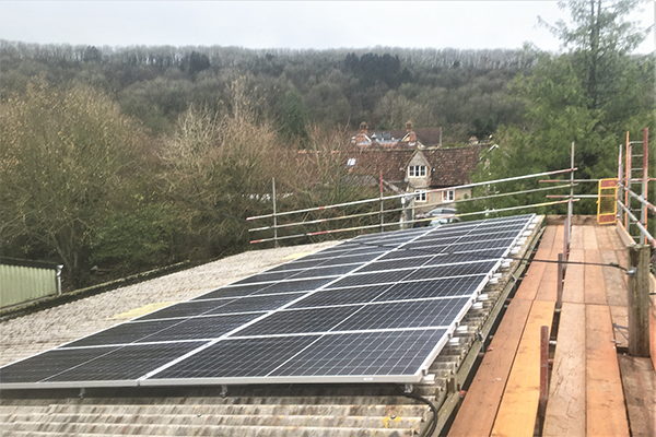 Letting the Light in- the new Hilfield solar array