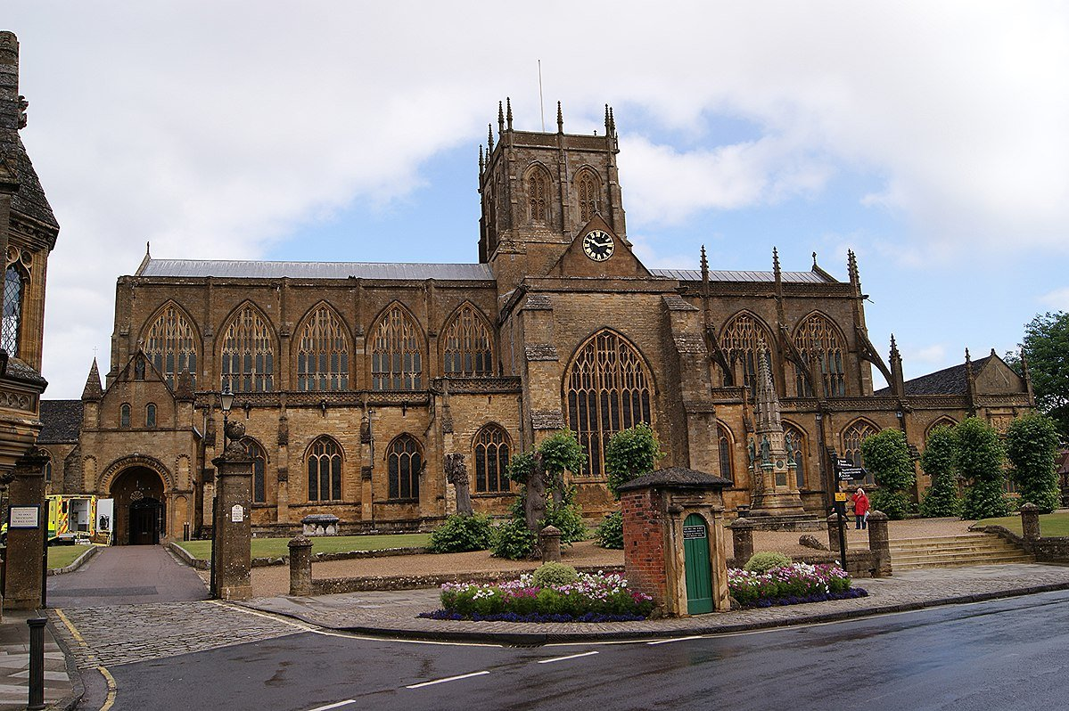 The battle of the churches- Sherborne Abbey
