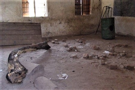 To Kampala and South Sudan- A classroom at the diocesan primary school, courtesy St Michael's Colehill