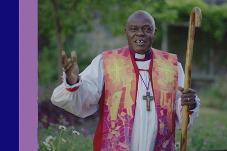 Archbishop marks his last day with an online service