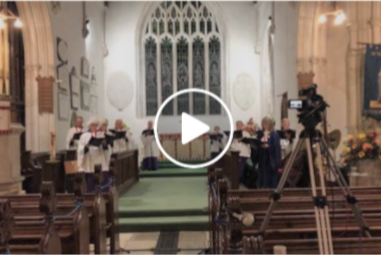 "Church choir gets upgraded to ""cathedral"" standard"