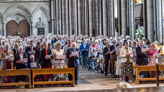 Churchwardens Thanked And Challenged