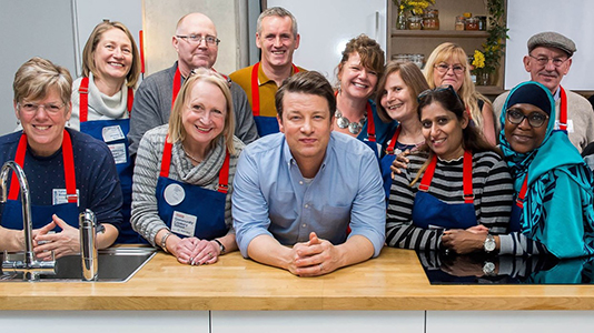 Community Cooking with Jamie Oliver