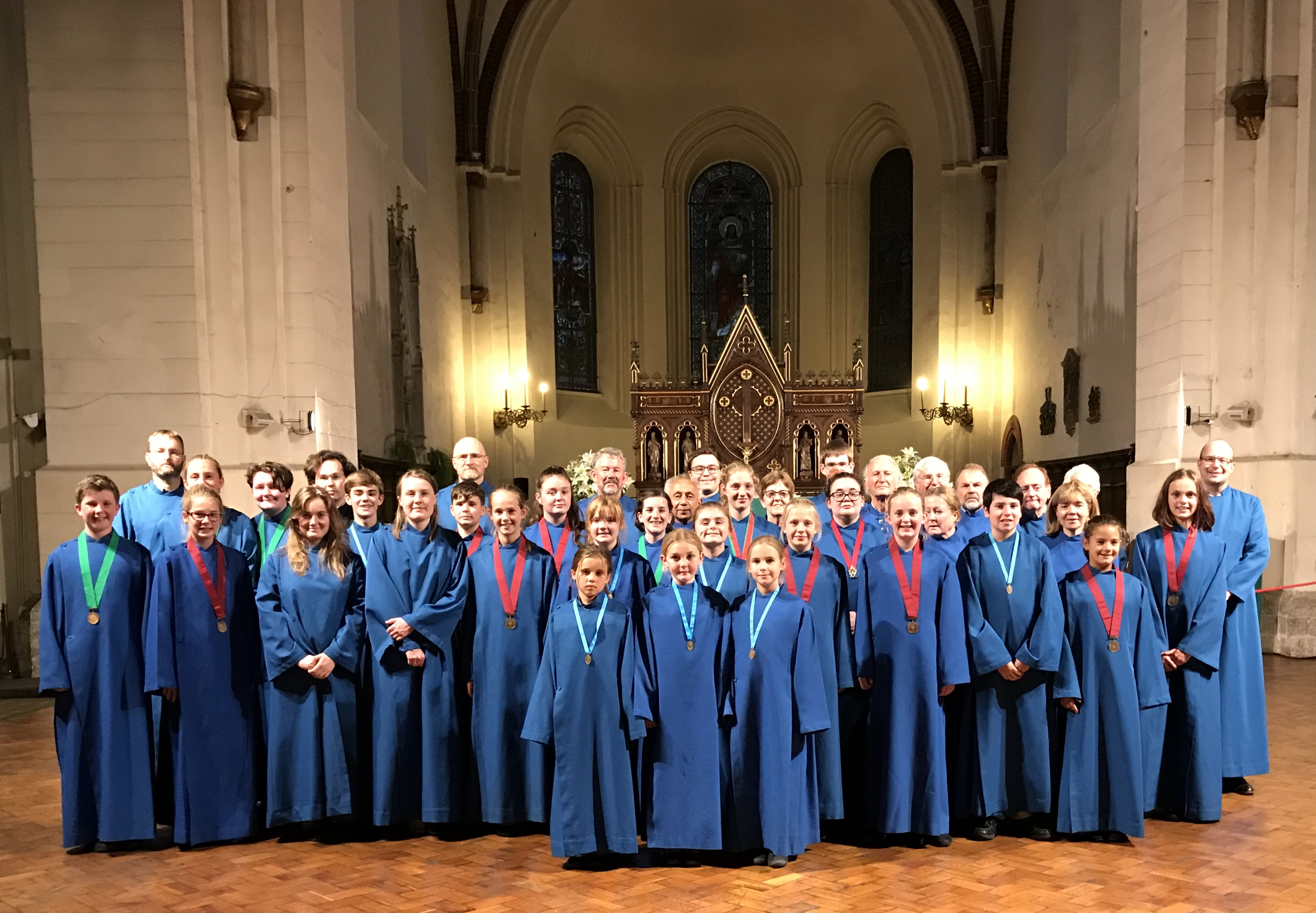 Local Choir Delights Latvia