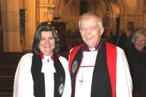 New Female Archdeacon Arrives