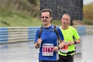 The Running Rector is at it again