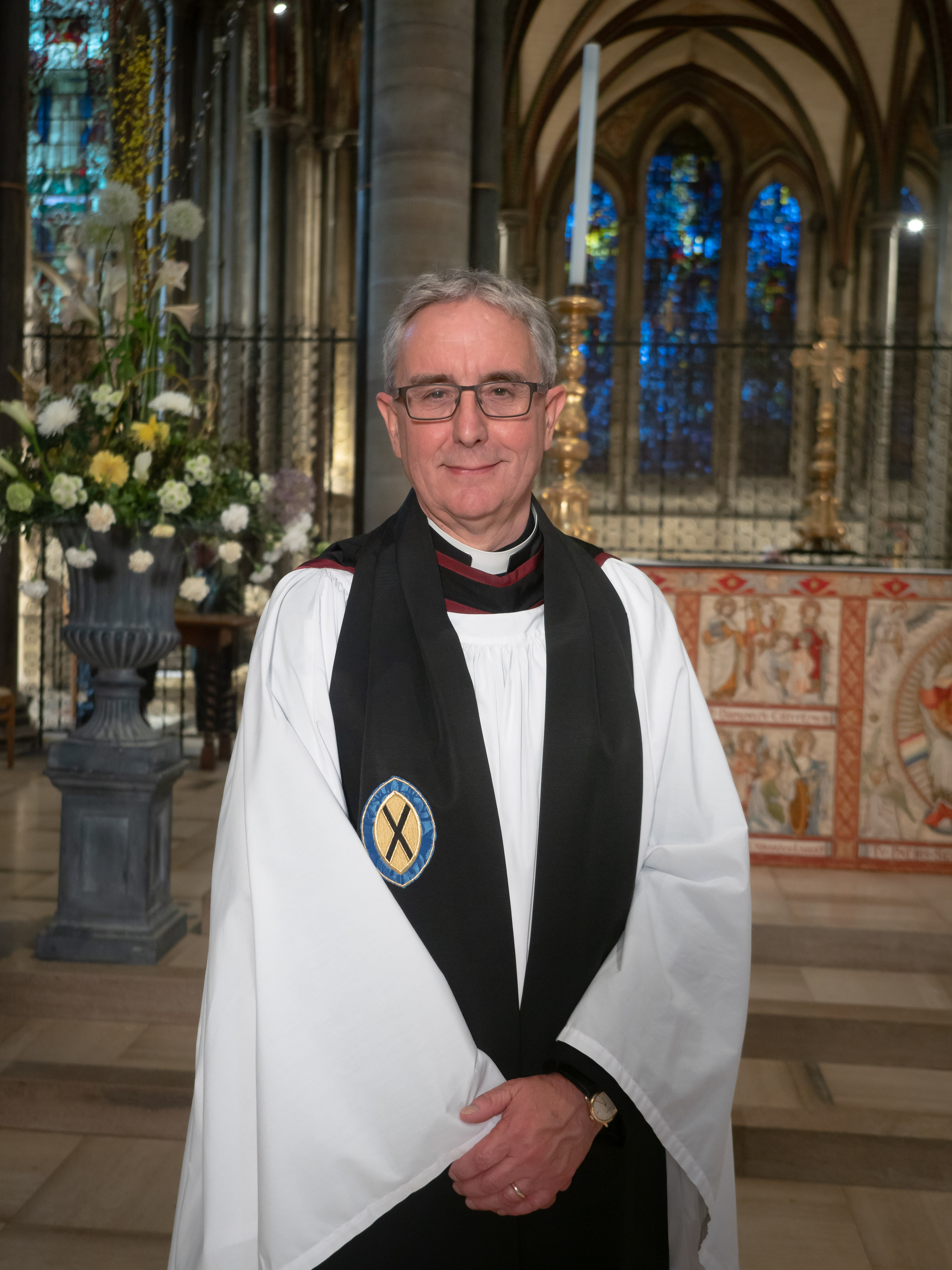 Well-known broadcaster joins Cathedral Chapter