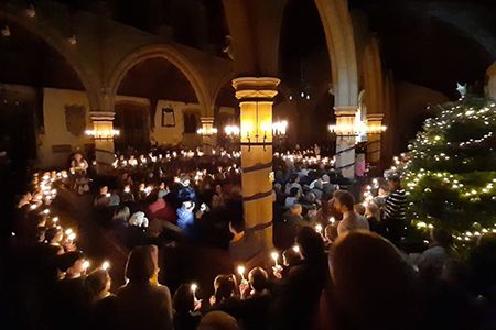 What's missing from the Christingle?
